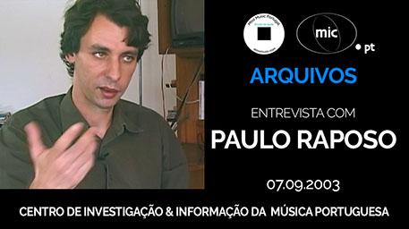 Paulo Raposo