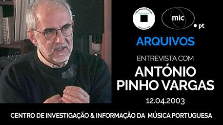 António Pinho Vargas